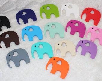 Elephant, Elephant teether, teething toy. baby gift, teething baby, chewing beads, chewlery, binky, soother, elephants, elephant toy, toys