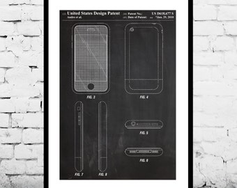 Computer blueprint etsy iphone patent iphone poster iphone print iphone art iphone iphone blueprint malvernweather Image collections