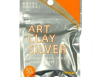 Aida chemical industries Art Clay Silver 50g / Shipping from Japan by Airmail