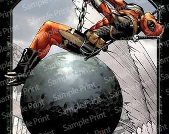 Magic the gathering Foil Token : Zombie Deadpool
