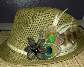 Bohemian Hat feathers