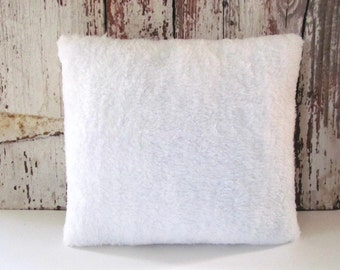Ivory Faux Llama Or Yak Fur Pillow Covers Custom Made You
