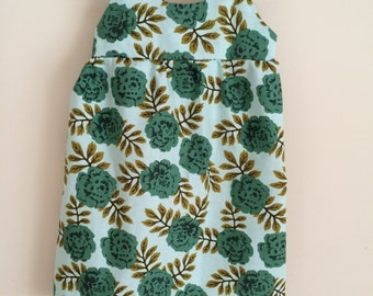 Mint Floral Baby Dress , Mint Baby Dress , Mint Toddler Dress , Floral Summer Dress , Floral Easter Dress