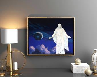 The Christus Statue // 5 Sizes // Salt Lake Temple