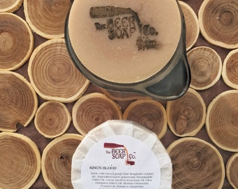 King's Blood Beer Soap Made with Ommegang Valar Morghulis Dubbel Ale