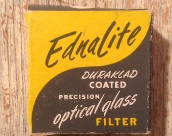 Ednalite Duraklad Coated Optical Glass Filter Chrom A Lense Filter
