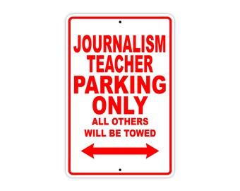 Journalism Teacher