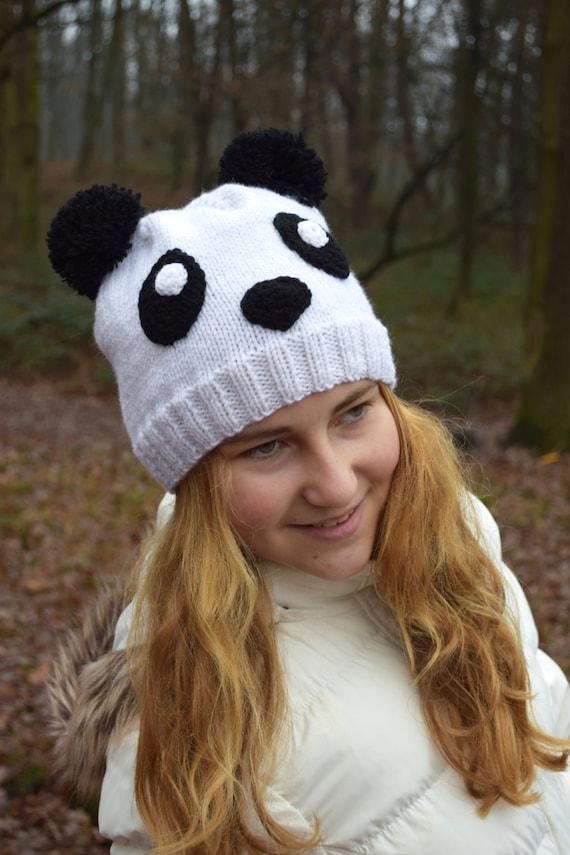 Animal Ear Hat Knitting Pattern English