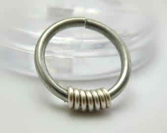 hoop earring / cartilage earring hoop / cartilage piercing / helix earring