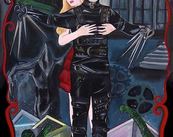 Edward Scissorhands by Melody Smith