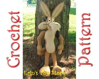 Willy the Coyote a Crochet Pattern by Erin Scull