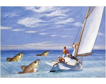 Swell Cods (frameable art cod)