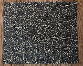 Star Swirls in Grey and Yellow Tarot/Altar Cloth