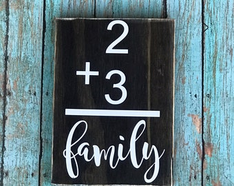 Addition Sign Farmhouse Sign Family Addition Wood Family Sign Rustic Wood Decor Mother's Day Gift