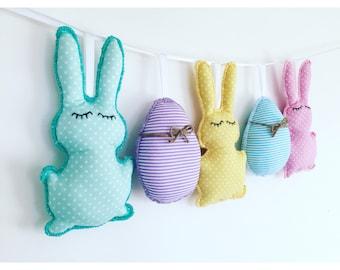 Easter decor,Easter egg bunting,Easter bunny bunting,Easter bunting,Easter garland,Easter wall hanging,Easter gifts for kids,Easter banner
