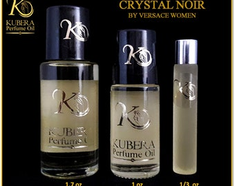 Type Crystal Noir perfume in oil for women 1/3oz 1oz 1.7oz