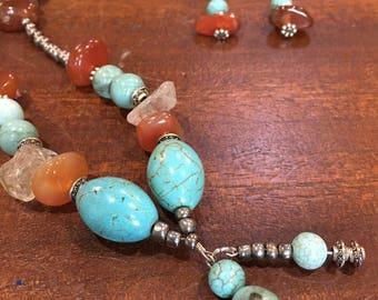 beautiful gemstone necklace