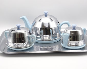 Vintage English Ceramic Tea Set and Tray, Mix and Match Tea Set