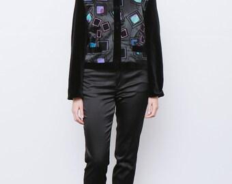 Vintage 80's Gerry Weber Velvet Jacket