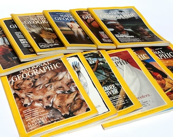 1991, National Geographic Magazine, Nat Geo 1991, Nat Geo Magazine vol 179, National Geographic Collection, National Geographic