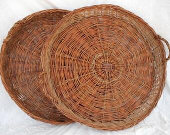Large Vintage Willow Basket