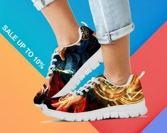 Dr Strange Shoes, Marvel Shoes, Avengers Shoes, Dr Strange Custom Shoes, Dr Strange Sneaker, Athletic Sneaker, Painted Shoes, Running Shoes.