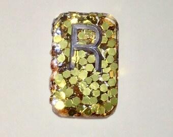 Gold Giant Glitter Rectangle