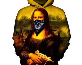 Mona Lisa Hoodie | Rave, EDM, Festival Hoodie