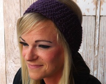 Ear Warmer - Knit Headband - Ear Brassiere - Knit Ear Warmer - Warm Ear Brassiere - Head Wrap - Winter Accessory