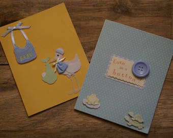 Welcome Baby Boy Cards