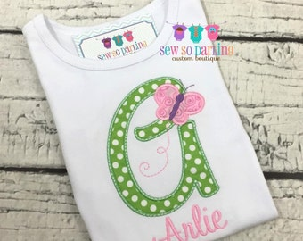 baby Girl Butterfly outfit - Baby Girl Butterfly shirt - Butterfly Shirt - Baby Girl Personalized Shirt - baby girl clothes