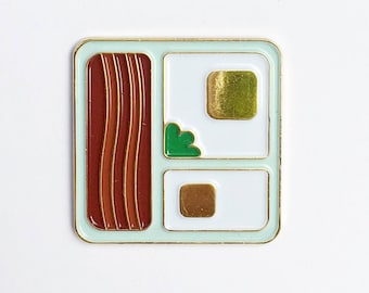 Bacon N' Eggs pin *On sale 30% off* (1)