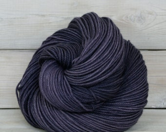 Zeta - Hand Dyed Polwarth Wool and Silk DK Sport Yarn - Colorway: Enchanted