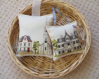 Lavender Sachet Duo - New England Style