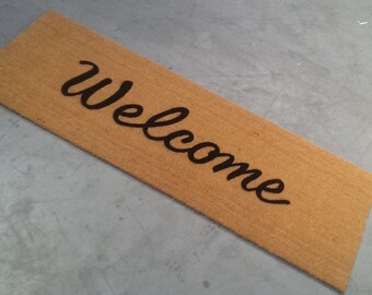 Extra Large Welcome Script (2' x 6')