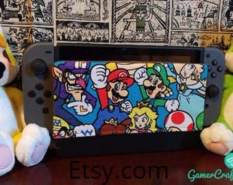 Nintendo switch dock sock cover with soft suede