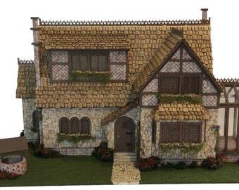 Complete Kit - Quarter Inch Scale Storybook Tattington Cottage