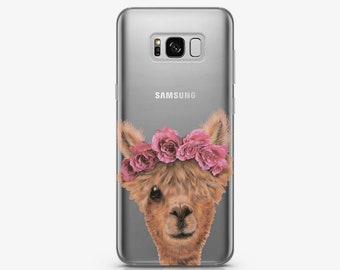 Llama Case for Samsung Galaxy S8 Case Samsung Galaxy S7 Edge Case to Samsung Note 8 Case Samsung Note 5 Case Google Pixel XL Case AC5007