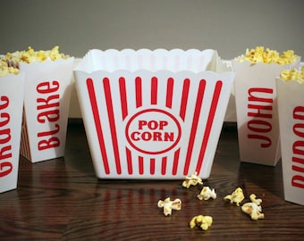 Personalized Popcorn Buckets