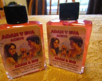 Adam and Eve Oil Adan Y Eva Aceite