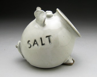 Ceramic Salt Pig - Salt Cellar - Made to Order