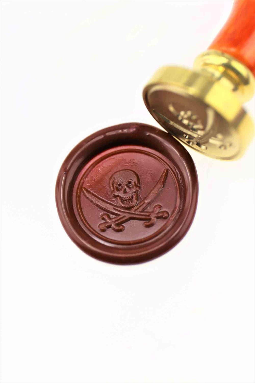 Pirate Wax Seal Stamp/ wax sealing kit /Custom wedding seals/wedding ...
