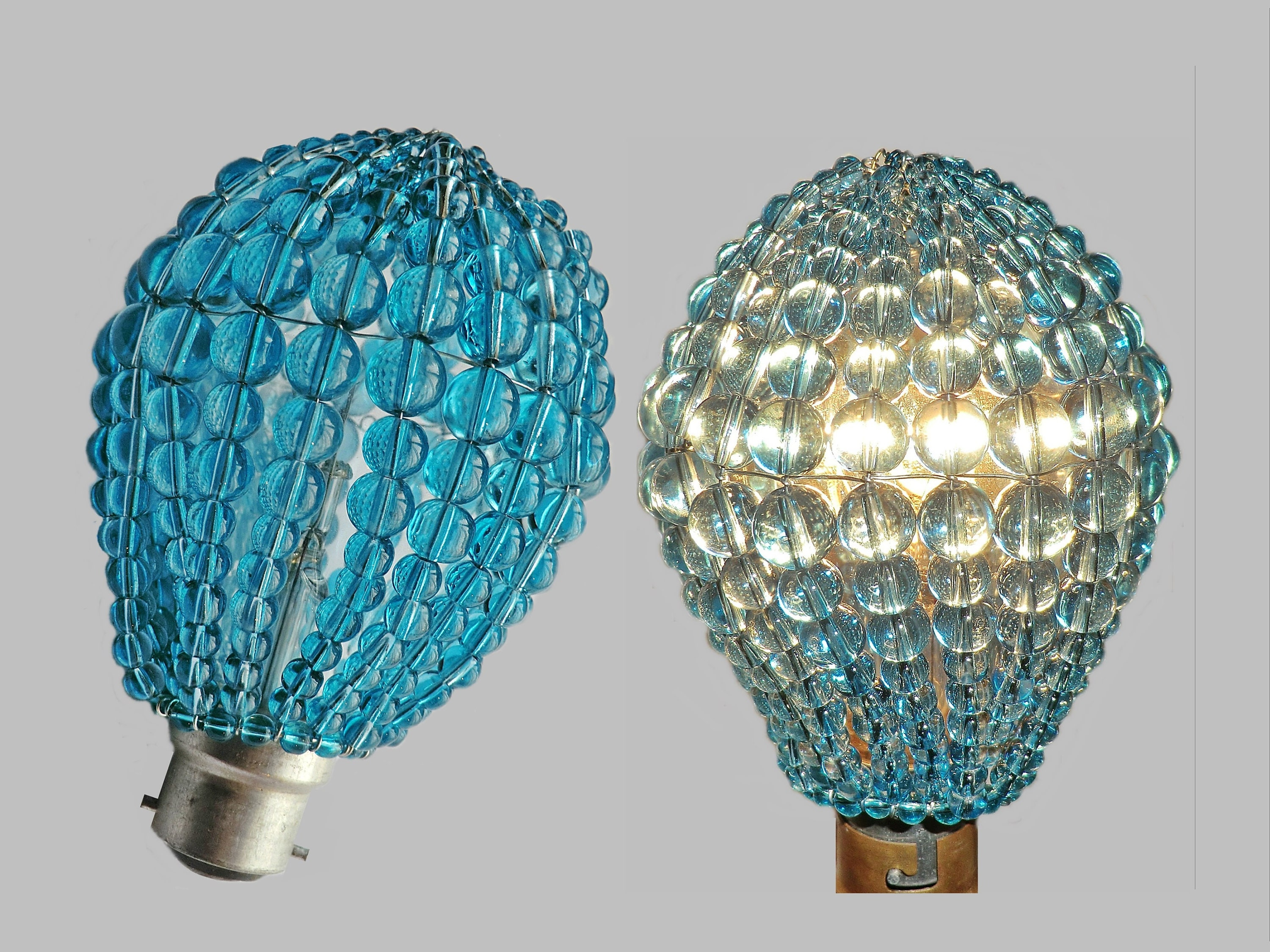u drum beaded silk ideas crystal lopez shades faux lamp shade