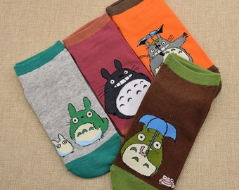 Personalized Totoro Ankle Socks