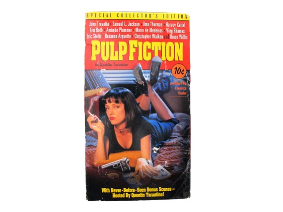 Pulp Fiction Special Collectors Edition VHS