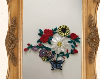 17 * 13 cm embroidery as an ornament to sew