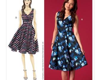 McCalls Sewing Pattern M7503 Misses' Sleeveless, V-Neck Dresses