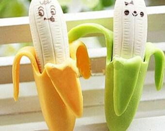 Ensemble de bananes de gomme de caoutchouc-2