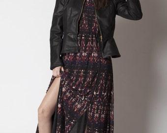 Ondine genuine leather jacket