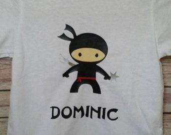 Personalized Ninja Shirt